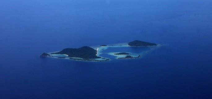 Bawah Private Island, South China Sea