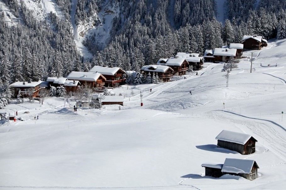 48 HOURS IN COURCHEVEL