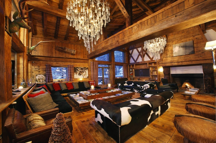 FOUR OF THE MOST LUXURIOUS EUROPEAN SKI CHALETS
