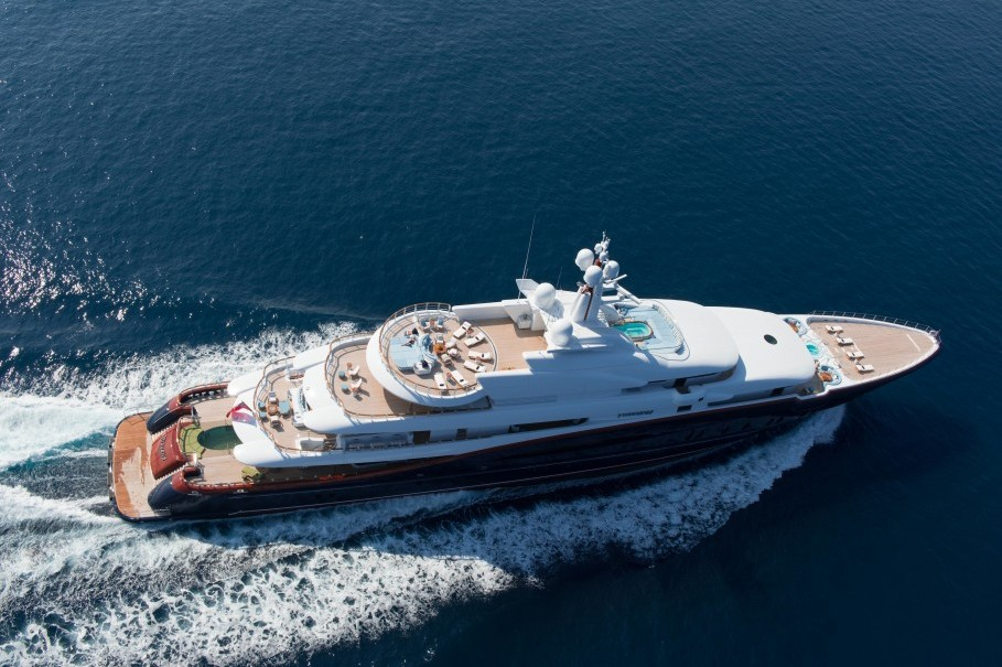 FOUR OF THE WORLD'S MOST SOPHISTICATED YACHTS TO CHARTER